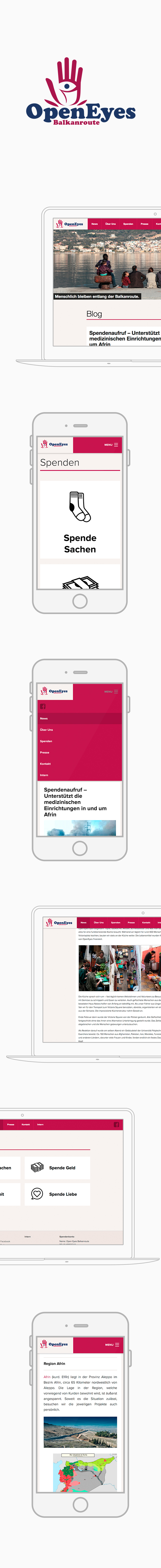 GLUNZ Projekt: Open Eyes - Mobile version