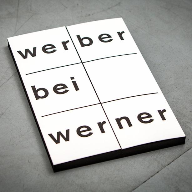 GLUNZ Projekt:                         Werber bei Werner