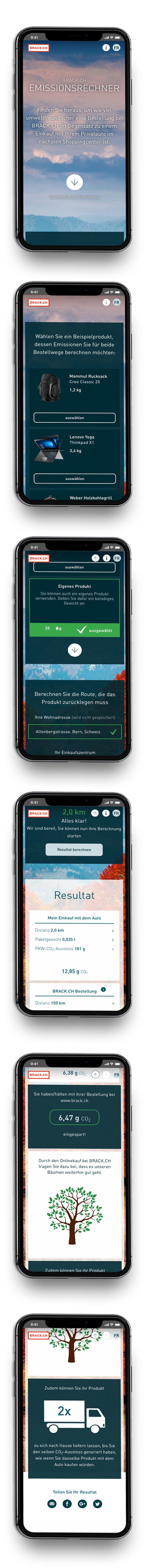 GLUNZ Projekt: Brack - Mobile version